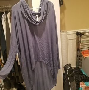 Tops - Long cowl neck tunic